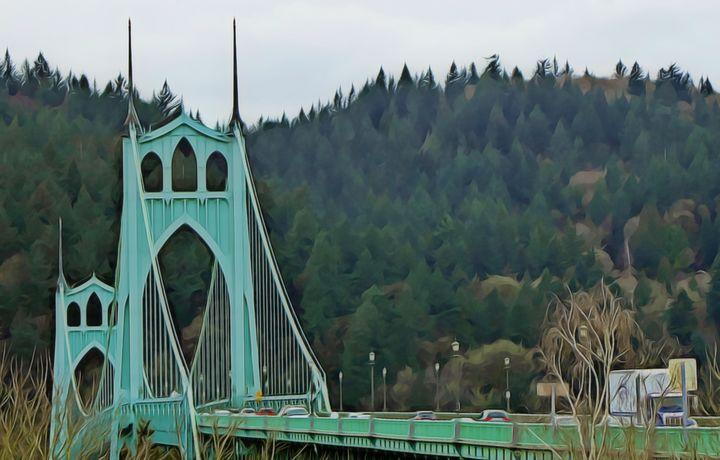St. Johns Bridge - Xpressions of Creation