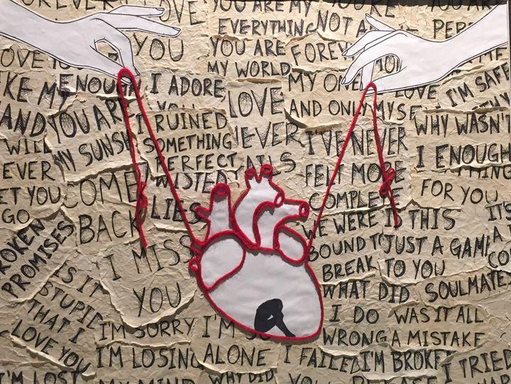 Heart Strings - Art by Autumn