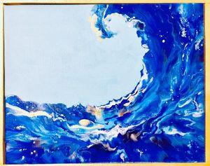 Blue Tsunami - Moment 2 Moment