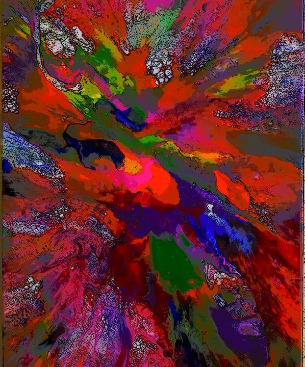 Rainbow Color SPLASH - Moment 2 Moment Art Studio