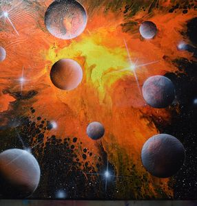 Fiery Universe