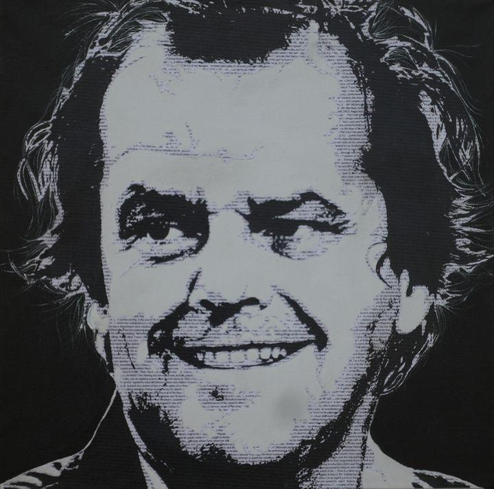 Literally Jack Nicholson - Cocksoup Art