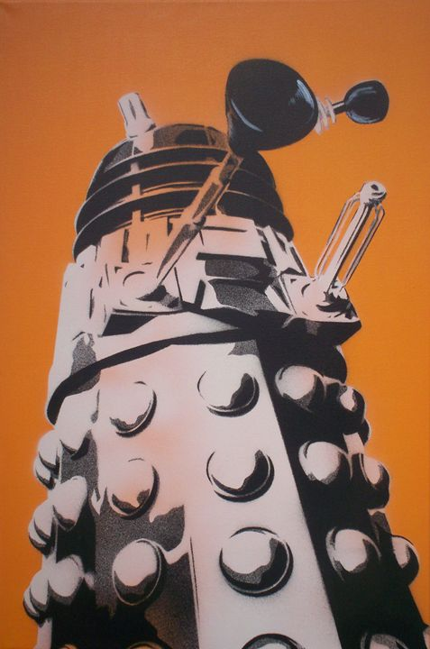 Dalek - Cocksoup Art