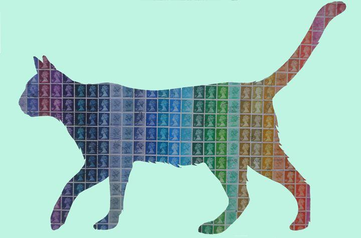 Rainbow Cat - Cocksoup Art