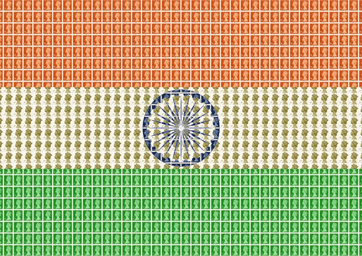 Indian Flag - Cocksoup Art