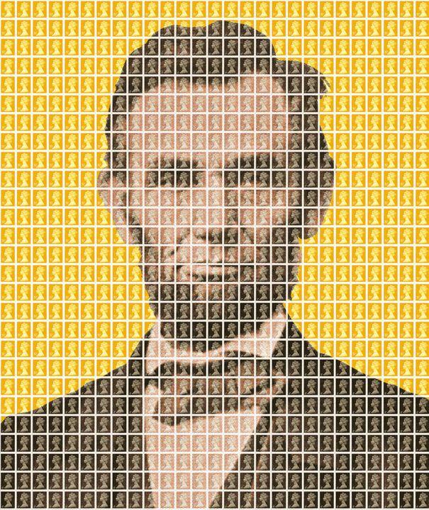 Lincoln - Yellow - Cocksoup Art