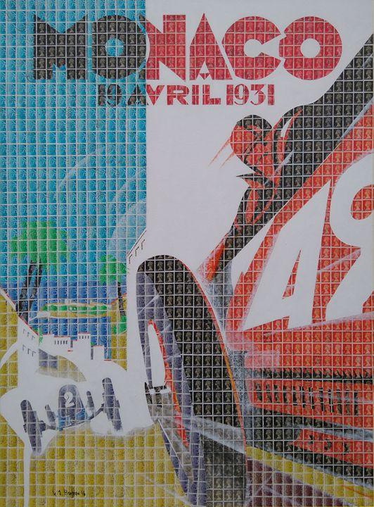 Monaco 1931 - Cocksoup Art