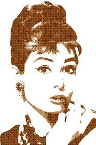 Scrabble Audrey Hepburn