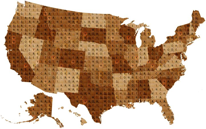 Scrabble USA - Cocksoup Art