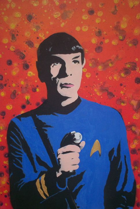 Mr Spock - Cocksoup Art