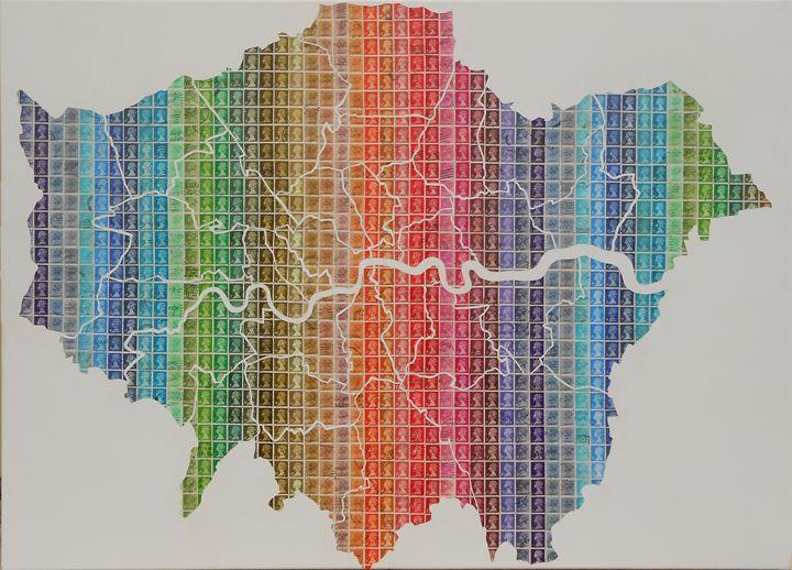 A River Runs Through It - London - Cocksoup Art