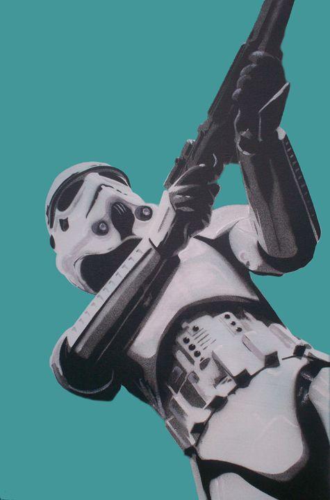 Stormtrooper - Cocksoup Art