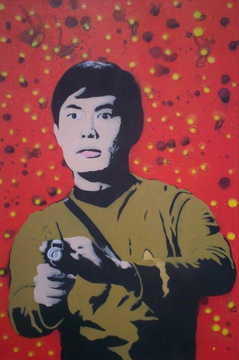 Mr Sulu - Cocksoup Art