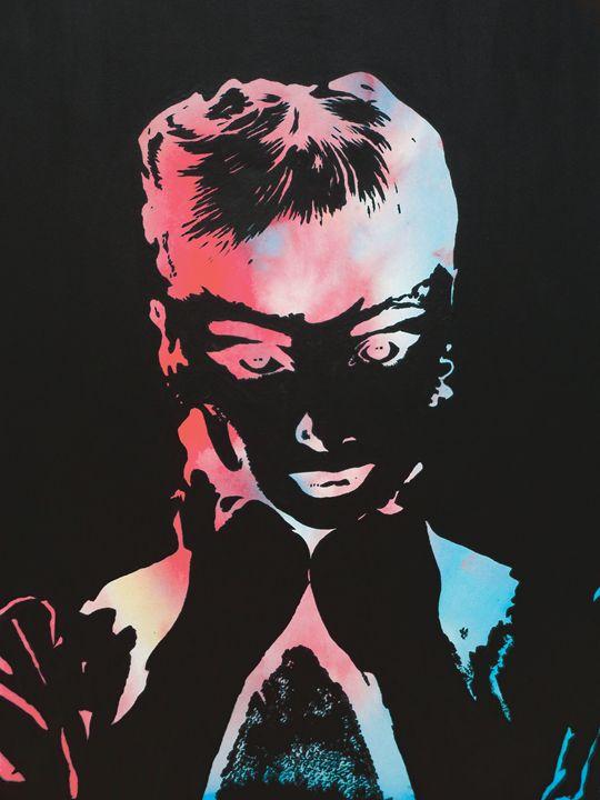 Technicolour Audrey Hepburn - Cocksoup Art