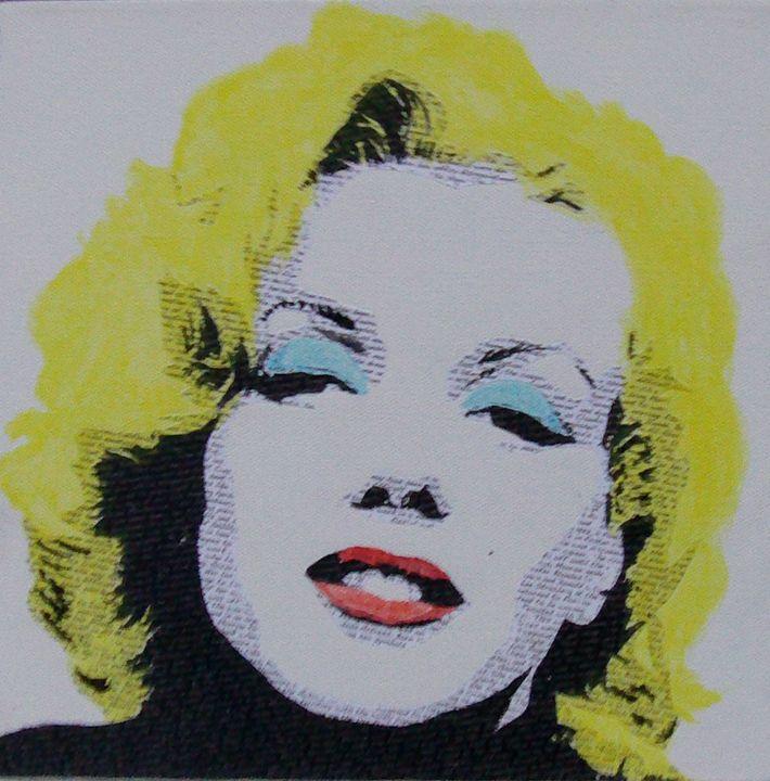 Literally Marilyn Monroe - Cocksoup Art