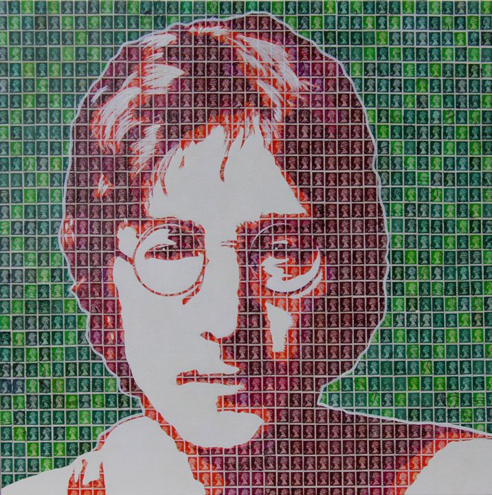 Lennon in Red - Cocksoup Art