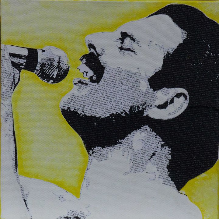 Literally Freddie Mercury - Cocksoup Art