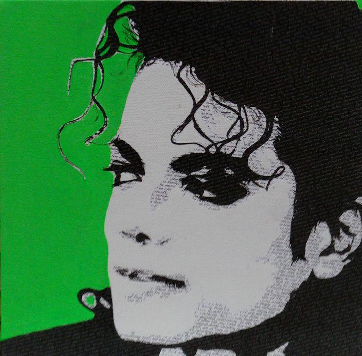 Literally Michael Jackson - Cocksoup Art