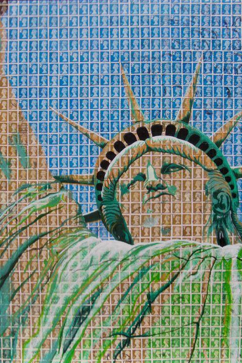 Stamptu of Liberty - Cocksoup Art