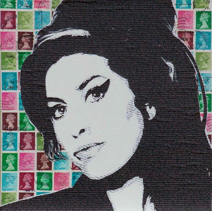 Literally Amy Winehouse - Cocksoup Art