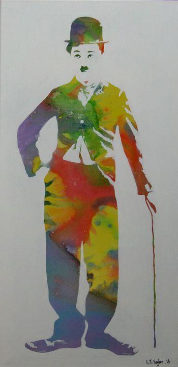 Technicolor Chaplin - Cocksoup Art