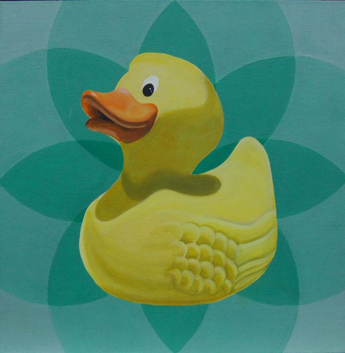 Don't give a rubber duck - Cocksoup Art