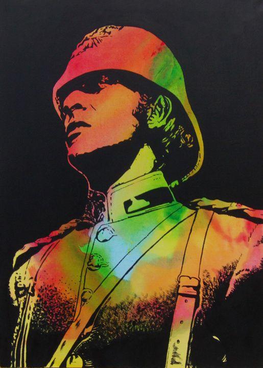 Technicolour Michael Caine - Cocksoup Art