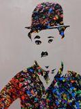 """47"""" x 24"""" Acrylics on canvas"""