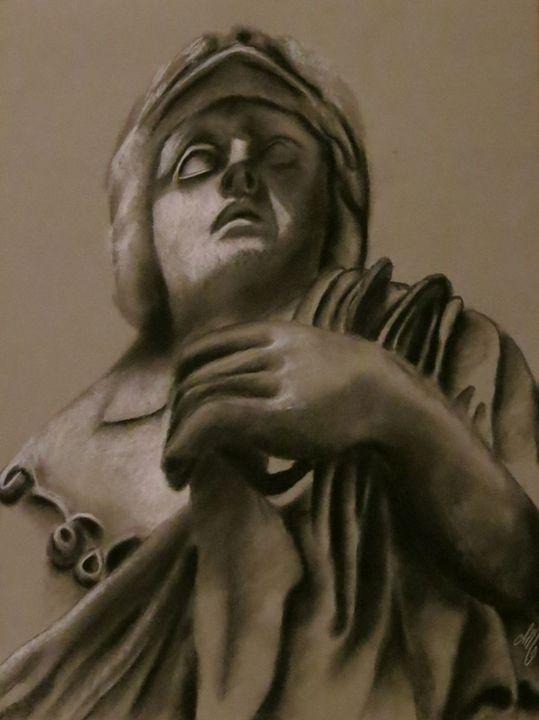 Fear - Charcoal Sculptures