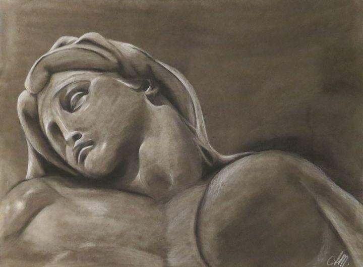 Resting - Charcoal Sculptures