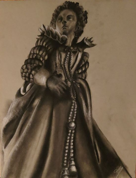 Drapery - Charcoal Sculptures