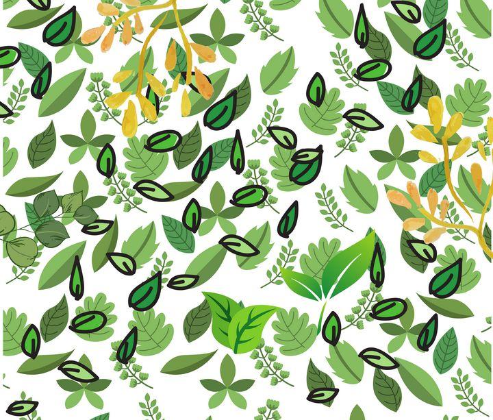 Blowing Leaves - Art4u2