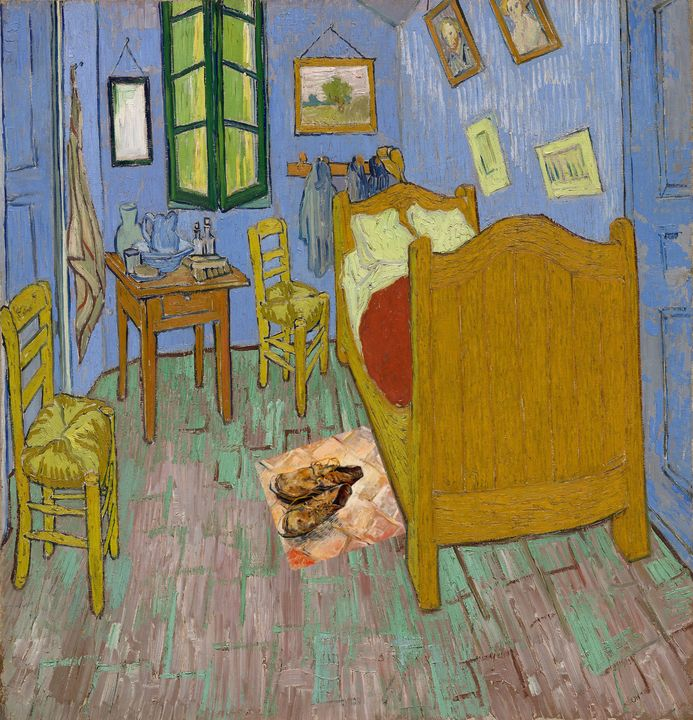 The Bedroom with The Shoes - Art4u2