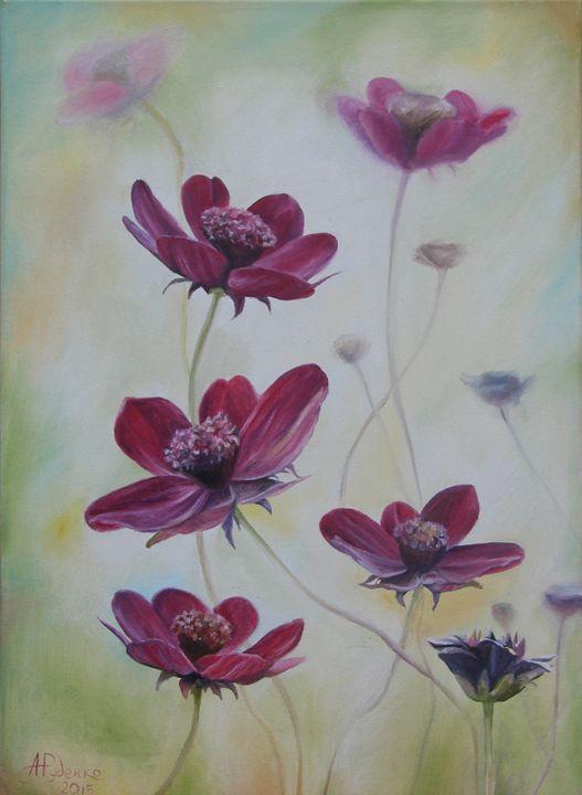 Purple dreams - Anne Rudenko