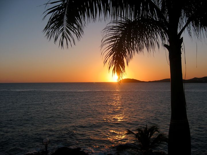 Sunset in St. Thomas - Stacey Phillips