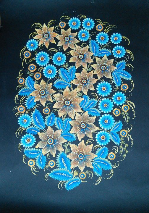 Decorative Independence - Anastasiia Chudnivets
