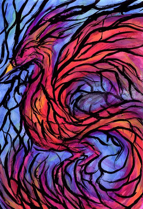 Bird of Paradise - Lind Whitby Studios