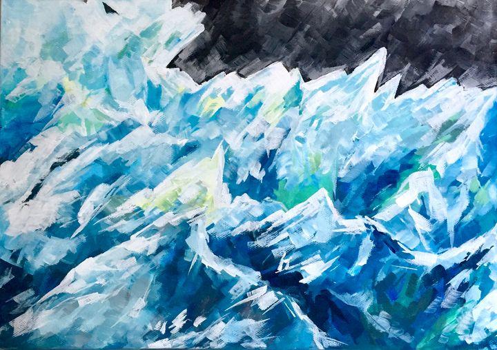 Iceberg - Ella Lina Art