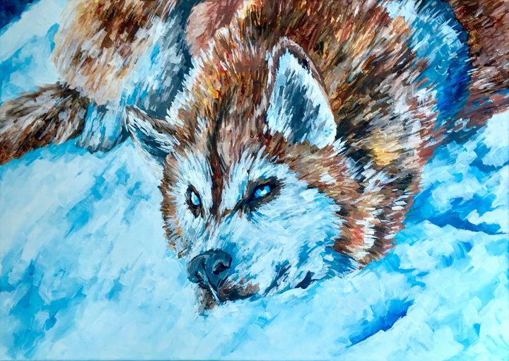 Husky - Ella Lina Art
