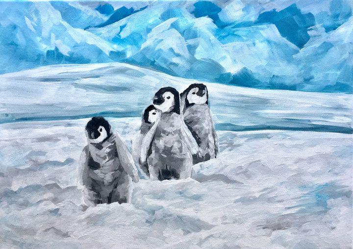 Penguins - Ella Lina Art