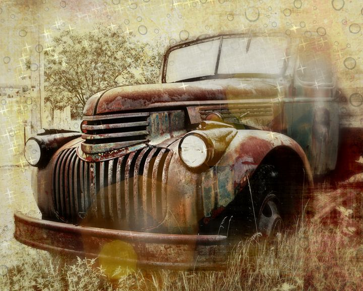 Rusty Dreams - Perry Webster Photography