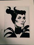 9x12in charcoal portrait