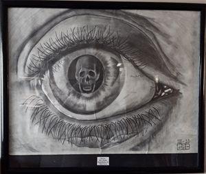 """Reproduction, MC Escher's """"The Eye"""""""
