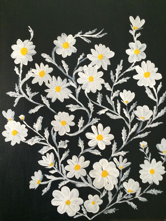 Floral art - Art work