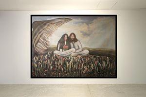 On the wing of love, John & Yoko - Amy Koch Johnson- May Art