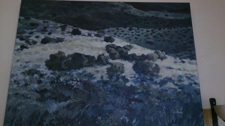 John De SMIT green landscape - Unplugged62 ART