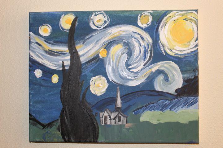 Pretty night - Logans Art