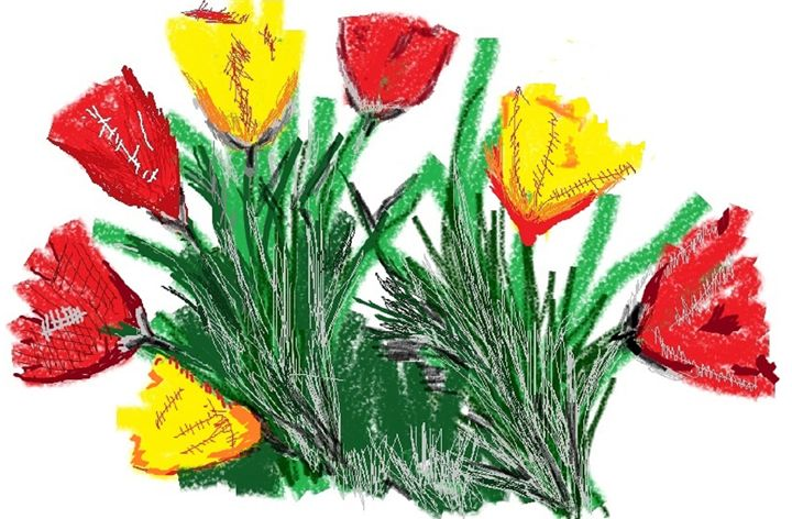 Bunch of Folwers - Siva's Arts