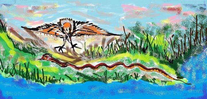 Eagel Spot - Siva's Arts