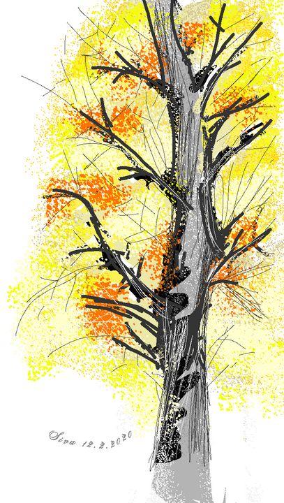 Lonely Tree - Siva's Arts